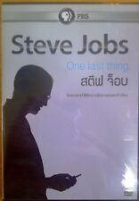 STEVE JOBS - ONE LAST THING NEW DVD (REGION 3)