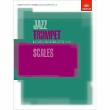 Jazz Trumpet Scales Grades 1 to 5 ABRSM From 2012 Sheet Music Book