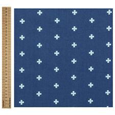 MASSIVE REMNANT FreeSpirit CROSS 100% Cotton Fabric -MIDNIGHT- Appx 114cm x 0.5M