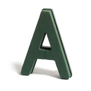 CLIP ON LETTERS FLORAL FOAM OASIS TYPE NAYLORBASE  A TO Z AND BAR SETS