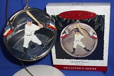 Hallmark Series Ornament Baseball Heroes #2 1995 Lou Gehrig NIB
