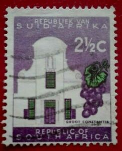 South Africa:1961 Definitive Issue - No watermark 2½ . Rare & Collectible Stamp.