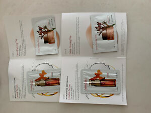 2 Sets Clarins Double Serum (.9ml) & Extra-Firming Day (2ml) Sample Sz