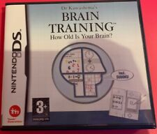 Dr. Kawashima's Brain Training: How Old is Your Brain (DS, 2006)