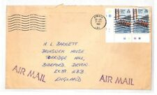 VV349 1981 Solomon Islands Honiara Airmail Cover PTS