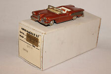 "MINI MARQUE ""43"" WHITE METAL 1958 EDSEL CITATION CONVERTIBLE, NICE, BOXED"