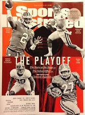 Sports Illustrated 12/25/17 Baker Mayfield Kelly Bryant Nick Chubb, Ships Today!