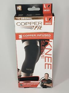 Copper Fit Copper Infused Compression Knee Sleeve Unisex