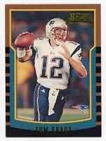 2000 Bowman Tom Brady #236 Rookie Card RC New England Patriots Goat