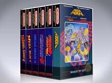 NEW custom game storage cases MEGAMAN 1,2,3,4,5,6 1-6  NES -No Game- Nintendo