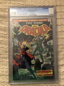 CGC 9.0 Tomb Of Dracula 22**Bronze Age** Marvel 1974 Wolfman-Colan-Palmer