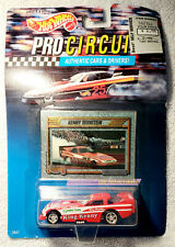 Hot Wheels Pro Circuit Kenny Bernstein 1992 Collector Card Details Authentic