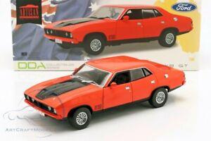 FORD FALCON XB GT351 YEAR 1974 RED / BLACK DDA