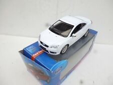 1/18 POWCO PLASTIC FORD FOCUS COUPE CABRIOLET IN WHITE  N M BOX