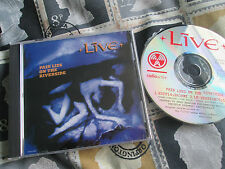 Live ‎– Pain Lies On The Riverside Radioactive ‎– CD45-2089 UK Promo CD Single