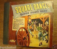 Cliffie Stone on 78 rpm Capitol Album BD44 – Square Dances