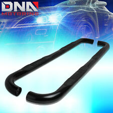 """FOR 2009-2014 FORD F150 SUPERCAB EXTENDED BLACK 3""""TUBING NERF BAR STEP BOARDS"""