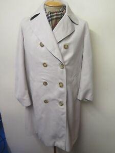 Vintage Aquascutum Beige Raincoat Coat Mac Trenchcoat Raincoat UK 10 Euro 38