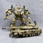 Transformers Brawl  Alloy Movie M1A2 Desert Camouflage Tank Action Figure Robot
