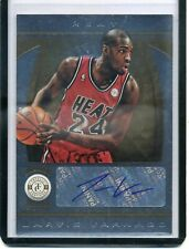 Jarvis Varnado 2013-14 Panini Totally Certified Autograph Gold #'d 04/25 Heat