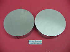 2 Pieces 6 Aluminum 6061 Round Rod 1 Long T6511 Extruded Lathe Bar Stock