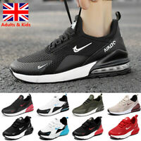 Mens Kids Boys Girls Trainers Sports Shoes Running School Casual Gym Sneakers UK