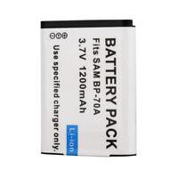 BP-70A Rechargeable Li-ion Battery For Samsung ES65 ES70 TL105 TL110 PL100 Cam