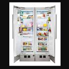 "Viking Virtuoso 7 Series 24"" All Refrigerator Column & 18"" All Freezer Column photo"