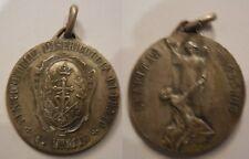 medaglia in argento al merito misericordia di prato anni '30