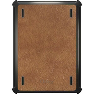 OtterBox Defender for iPad Pro / Air / Mini -  Dark Brown Leather Texture