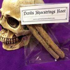 WHOLESALE LOT x10 DEVILS SHOESTRINGS ROOT- RITUAL SPELL WITCHCRAFT