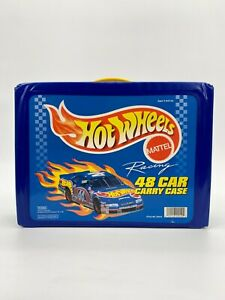 MATTELL HOT WHEELS 48 Car Carry Case style No 20010 1997 + 42 Cars