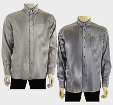 Marks and Spencer Men's Striped Cotton Casual Shirts & Tops