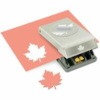 """Punched Image 2.5/"""" ~ NIB EK SUCCESS Maple Leaf Large Punch E5430157"""