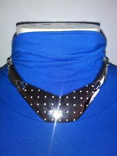 Vintage Escada Silver Color Choker Necklace