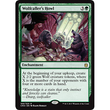 MTG COMMANDER ANTHONOLGY * Wolfcaller's Howl