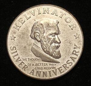 Kelvinatot Silver Anniversary BEAUTIFUL CONDITION COIN