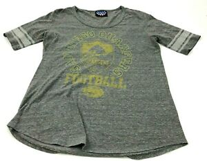 San Diego Chargers Shirt Women's Size Large L Gray NFL Football Graphic Tee USA