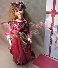 "Harmony Creations Dolls Of Distinction ""Rosa"" Porcelain Doll 17"""