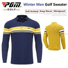 Pgm Golf Long Sleeves T-Shirts Men's Apparel Sweater Casual Training Shirt