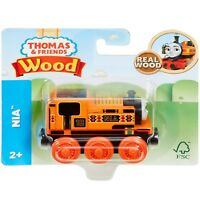 Thomas & Friends Fisher Price Wooden Nia Engine Ages 2+ **BRAND NEW**