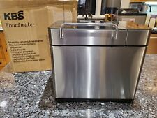 Kbs 710W Bread Maker 2Lb Xl Capacity Bread Machine with Nonstick Ceramic Pan