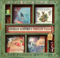 Classics Velveteen Rabbit, Peter Rabbit, Little Mermaid,& Night Before Christmas