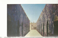 Corridor in Old Territorial Penitentiary  Yuma  AZ   Unused Chrome Postcard 1417