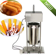 【15L】 Commercial Auto Electric Spanish Churros Maker Baker Making Machine 25W CE