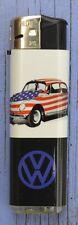 Briquet publicitaire Prof, VW USA, Stars and Stripes, fonctionne très bien,