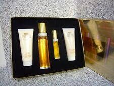 WHITE DIAMONDS Perfume Elizabeth Taylor GIFT SET 3.4 BODY CREAM WASH EDT NEW