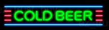 """New Cold Beer Man Cave Bar Pub Neon Light Sign 17"""""""