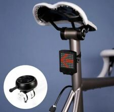Bike Rear Tail Laser 64 LED Light Rechargeable Wireless Remote Turn Signal Water