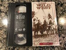 The Wild West Indians VHS! 1992 PBS. National Geographic. Native Americans.